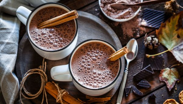 Try this healthier hot chocolate