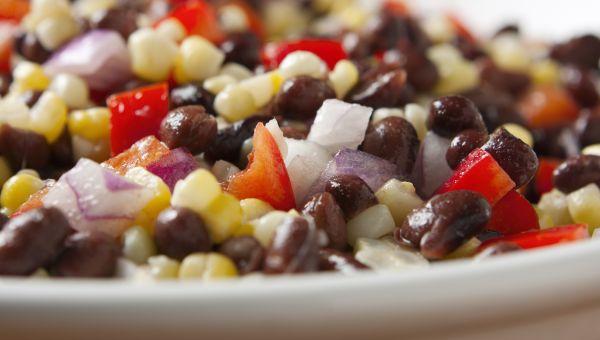 Bean, Corn and Pepper Salad Recipe