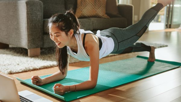 No Gym? No Problem. How to Stay Fit While Staying Inside