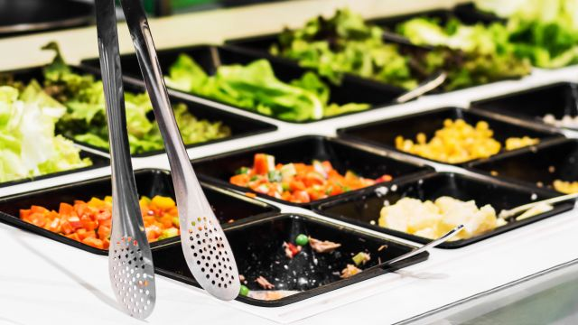 Salad Bar: A Sight for Healthy Eyes