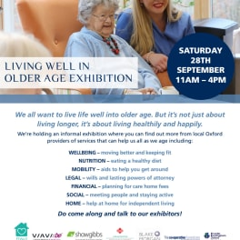 Image for Shaw Gibbs news article - Shaw Gibbs support Fairfield Residential's Living Well in Older Age exhibition  - 28 September 2019