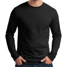 Hanes Tagless 100% Cotton Long Sleeve T-Shirt