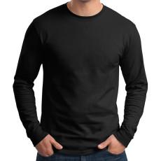 Hanes Tagless 100% Cotton Long Sleeve T-Shirt