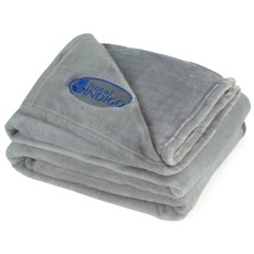 Brookstone Serenity Plush Throw
