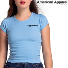 American Apparel 4321 / Girly Basic Cap Sleeve Tee