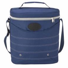 Engraved Oval Cooler Bag with Shoulder Strap