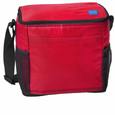 Imprinted 12-Can Cooler with Mesh Pockets