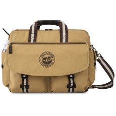 Heritage Supply Ridge Cotton Computer Messenger Bag