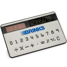 Custom Printed Card Size Solar Calculator