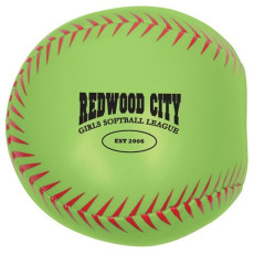 Custom Softball Pillow Ball