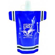 16 Oz Super Fan Flat Bottle