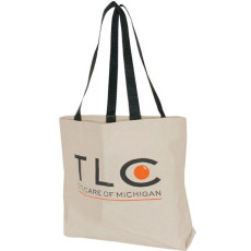 Customizable Natural XL Tote