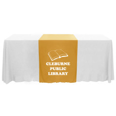 "Personalized Narrow 70"" Table Runner"