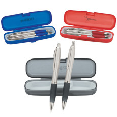 Imprintable Pen and Pencil Set with Case