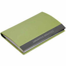 Imprinted Magnetic Closure Card Case