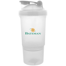 Imprinted Double Shaker Cup