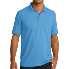 Port & Company Ring Spun Pique Polo (Apparel)