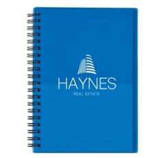 """5"""" x 7"""" Two-Tone Spiral Notebook"""