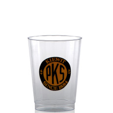 10 oz. Clear Fluted Plastic Cups