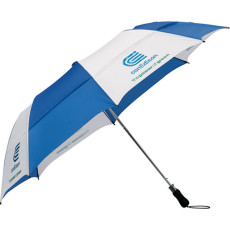 "Promo 58"" Vented Folding Golf Umbrella"