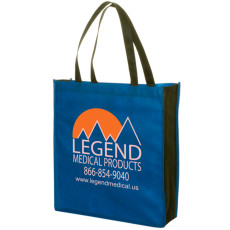 Promotional Non-Woven Two-Tone Tote
