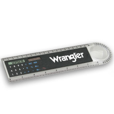 Promotional Solar Powered Ruler Calculator