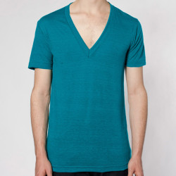 American Apparel Unisex Short Sleeve V-Neck
