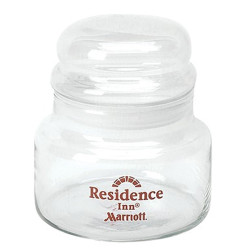 15 oz Glass Storage Jar With Lid