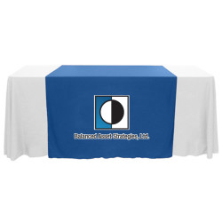 "Custom Full Color Wide 63"" Table Runner"
