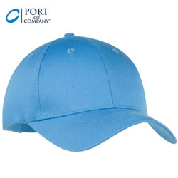 Port & Company® Six Panel Twill Cap
