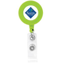Imprintable BioGreen Round-Shaped Badge Holder