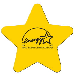 Logo Star Shaped Magnet