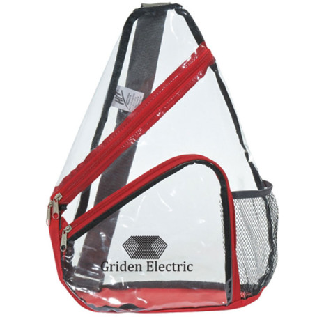 Promo Clear Sling Backpack