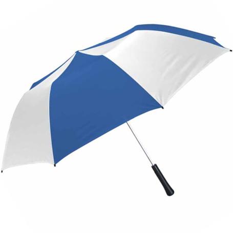 "Monogrammed 56"" Arc Giant Telescopic Folding Umbrella"