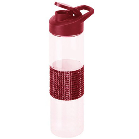 18 oz Sparkle Glass Bottle