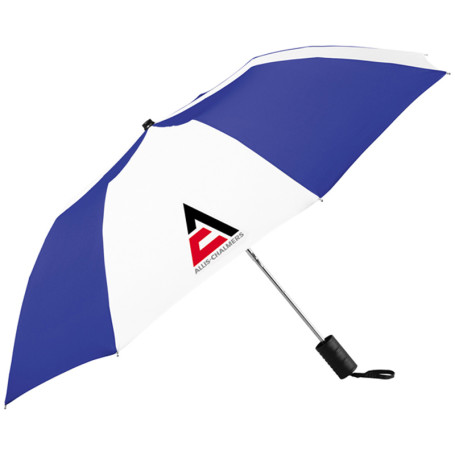 "Printable Miami 42"" Auto Folding Umbrella"