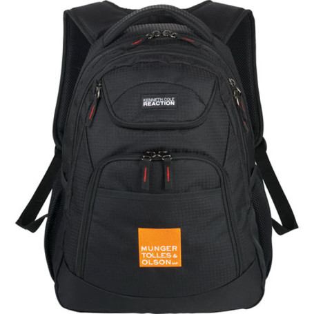Printed Kenneth Cole Reaction Compu-Backpack
