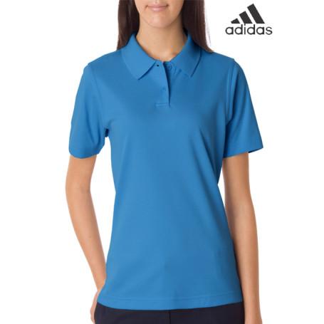 Adidas Ladies ClimaLite Pique Polo