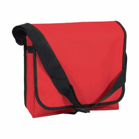 Printed Messenger Bag