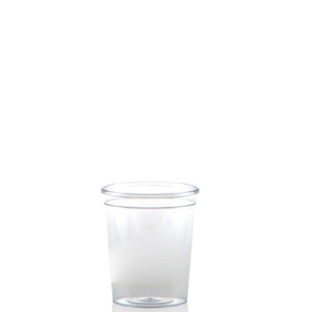 2 oz. Clear Plastic Shot Cups