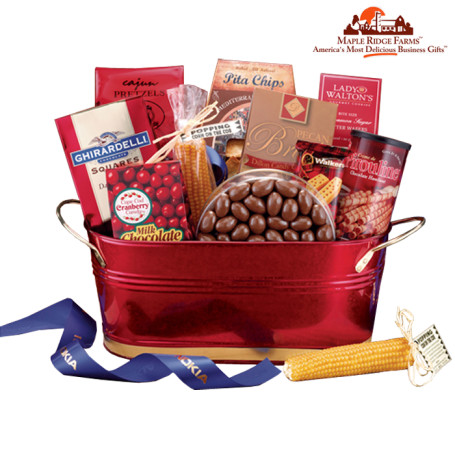 Maple Ridge Farms Deluxe Office Party Basket