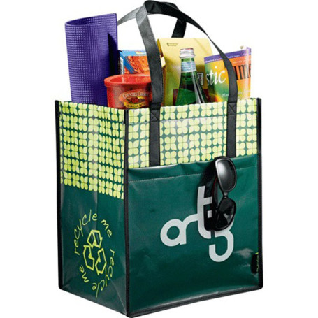 Custom Laminated Non-Woven Big Grocery Tote