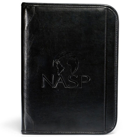 Custom Logo Vintage Leather E-Padfolio