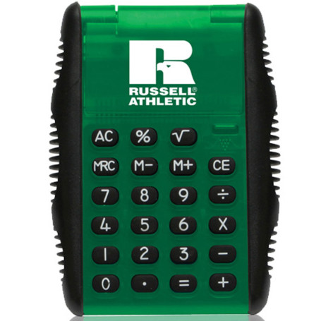 Custom Printed Flip Calculator