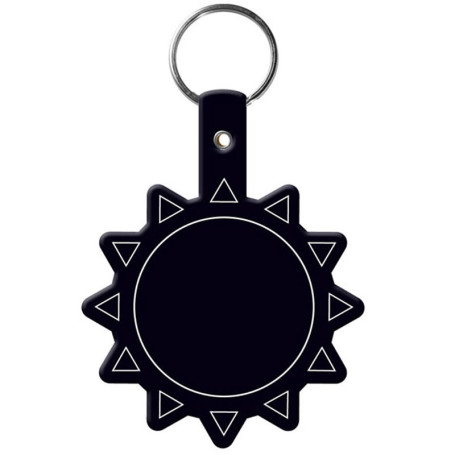 Custom Printed Sun Flexible Key-Tag