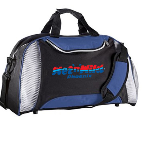Customizable Excel Duffel Bag  - Blue