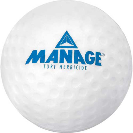Imprinted Golf Ball Stress Reliever