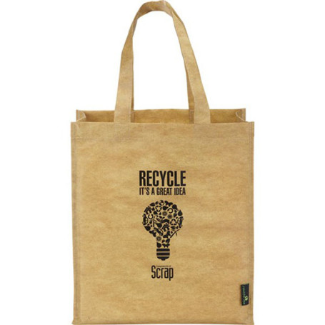 Imprinted Matte Laminated Grocers Brown Bag
