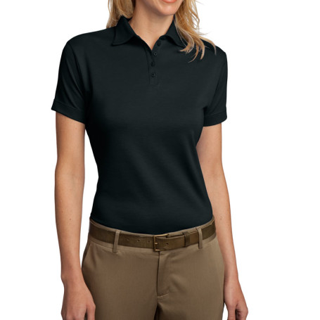 Port Authority Ladies Pima Select Polo with PimaCool Technology