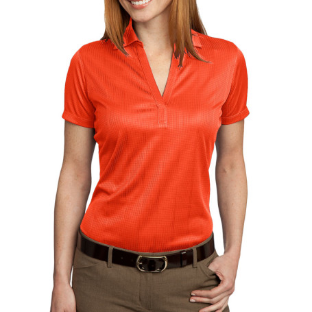 Port Authority Ladies Performance Fine Jacquard Polo (Apparel)